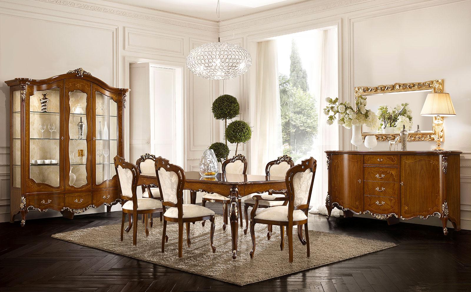 Mobili per salone classici for Arredamento classico bologna